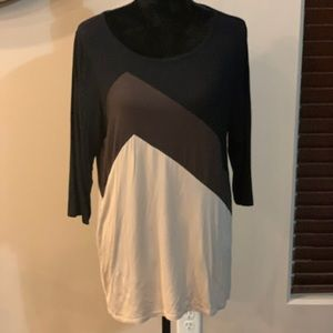 NWT EllumiNation 3/4 sleeve blouse XL